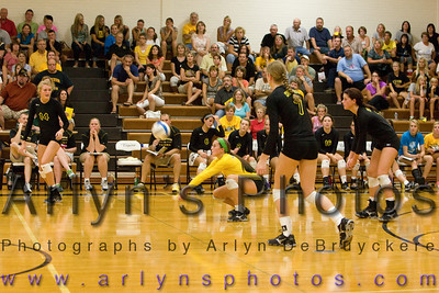 Hutch Volleyball vs Rosemount